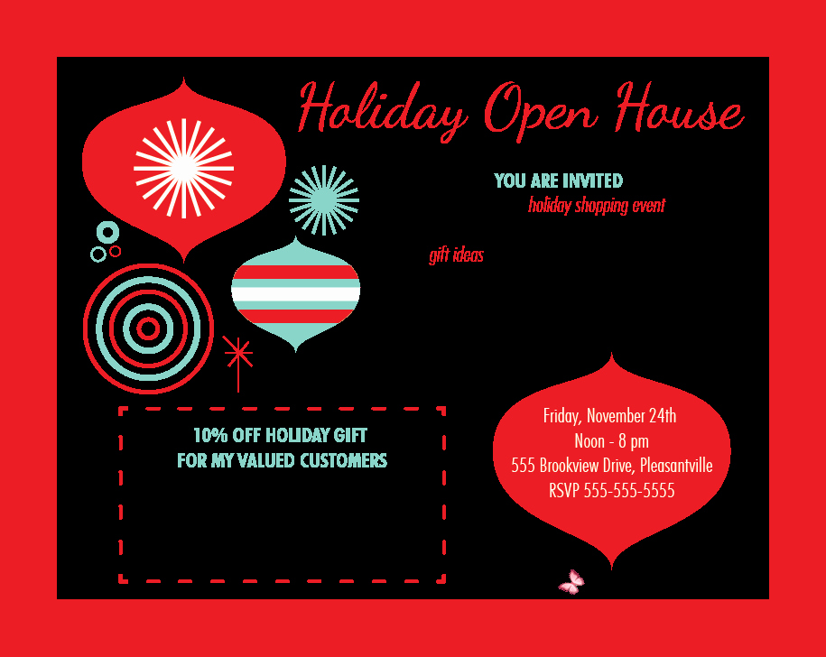 House Party Invitation Template