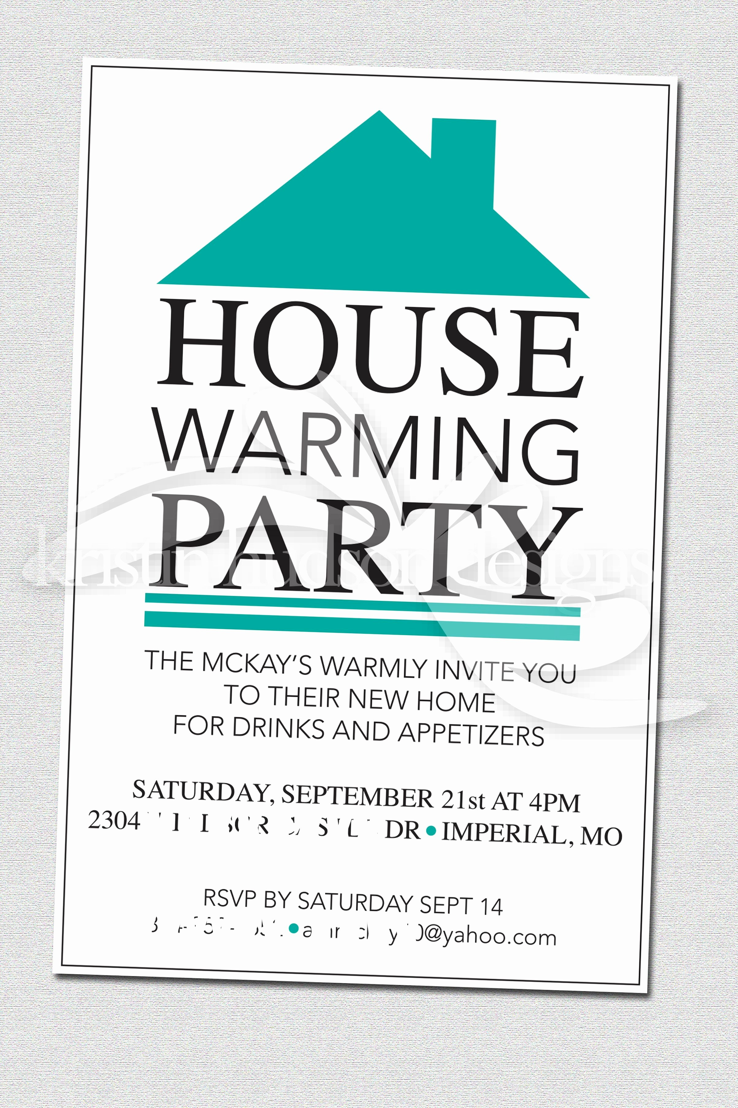 House Warming Party Invite