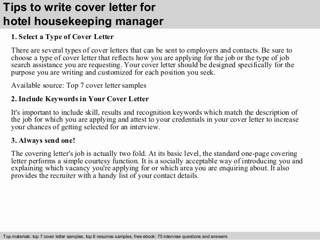 Housekeeping Cover Letter No Experience Dental Vantage