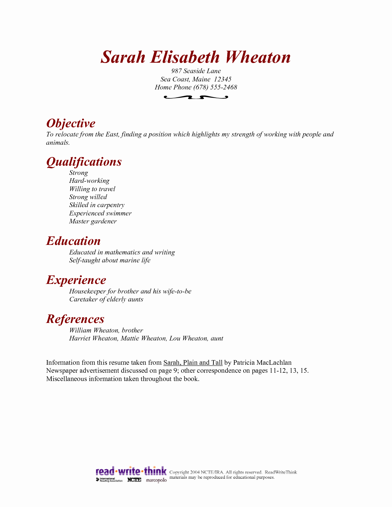 Housekeeping Resume Objective Resume Ideas