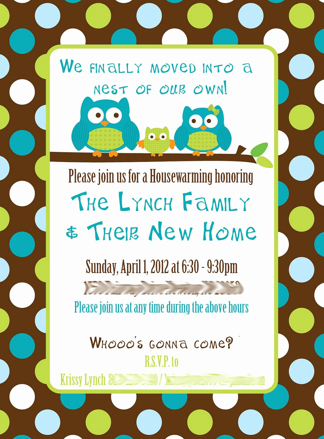 Housewarming Party Invitation Wording Template