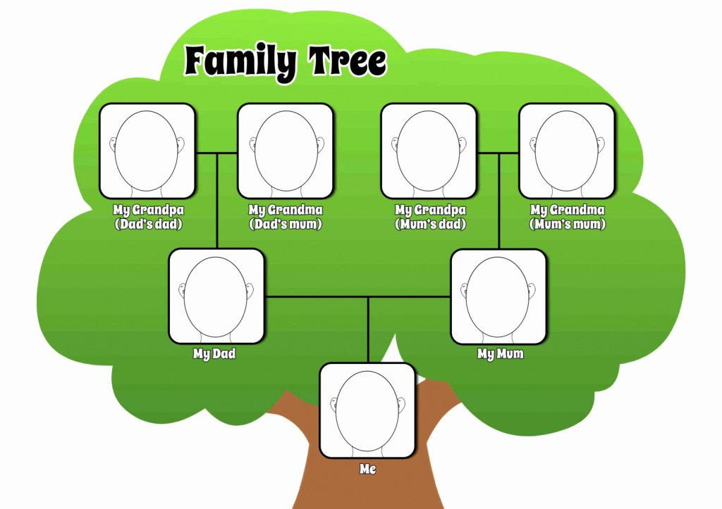 How Do You Draw A Family Tree Pencil Art Drawing