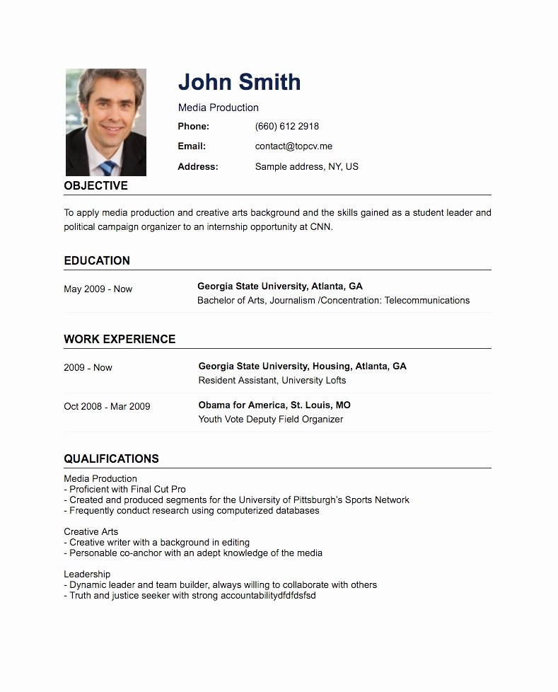 How Do You Make A Resume
