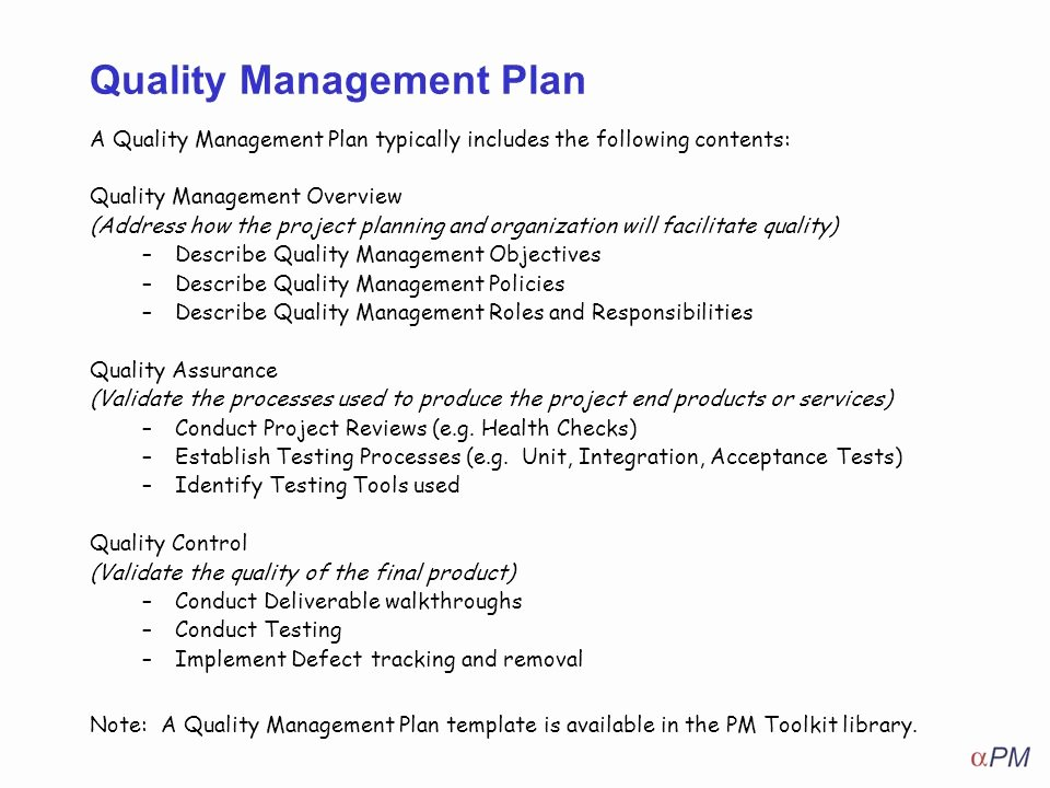 How to Apply Quality Management Ppt Video Online