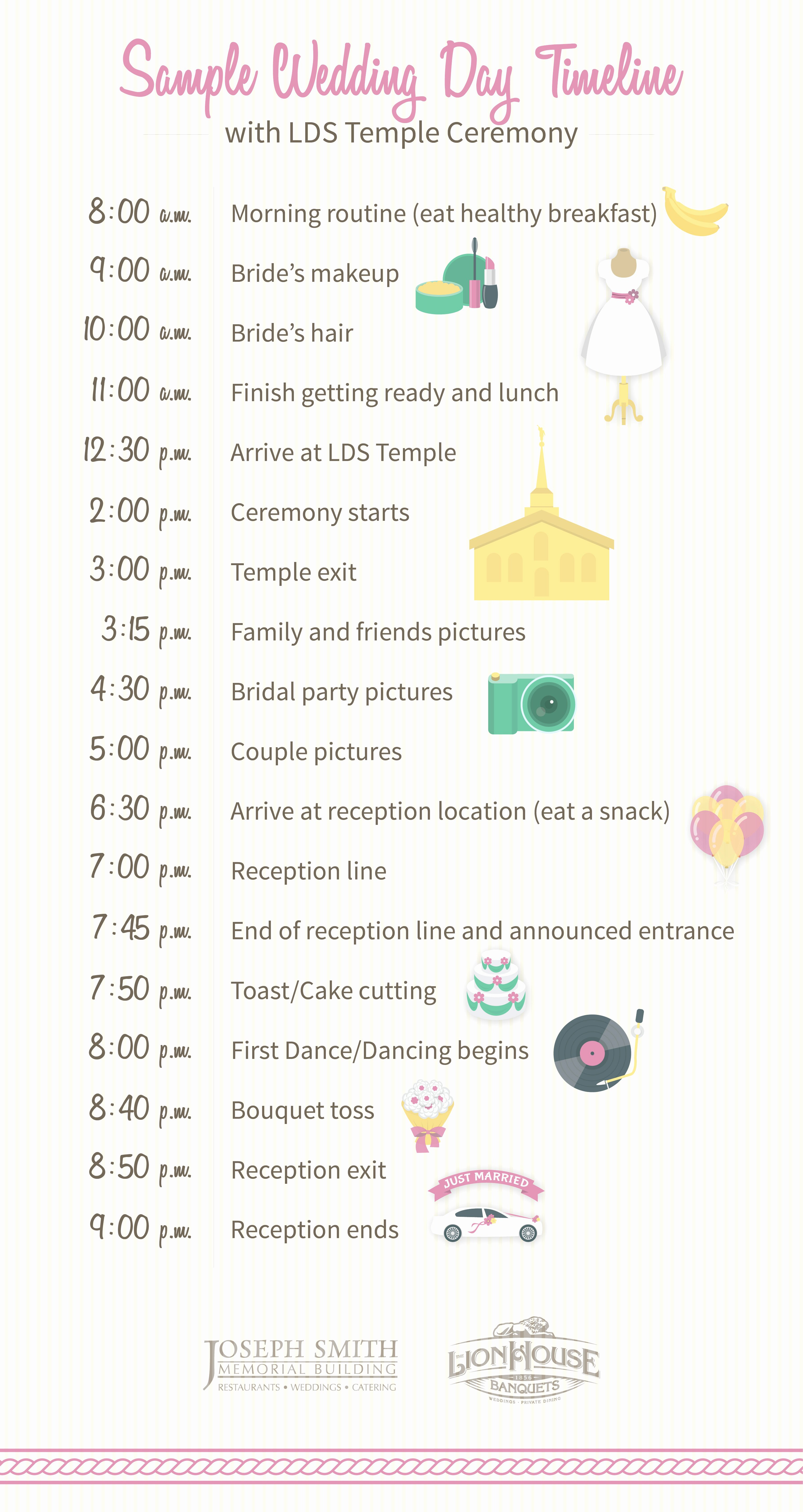 How to Build Your Wedding Day Timeline