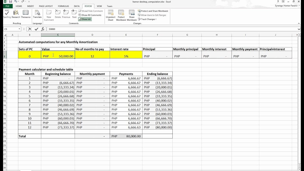 How to Create A Bond Amortization Schedule In Excel Bond