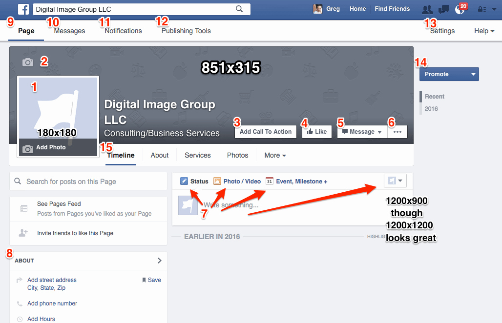 How to Create A Business Page the Definitive