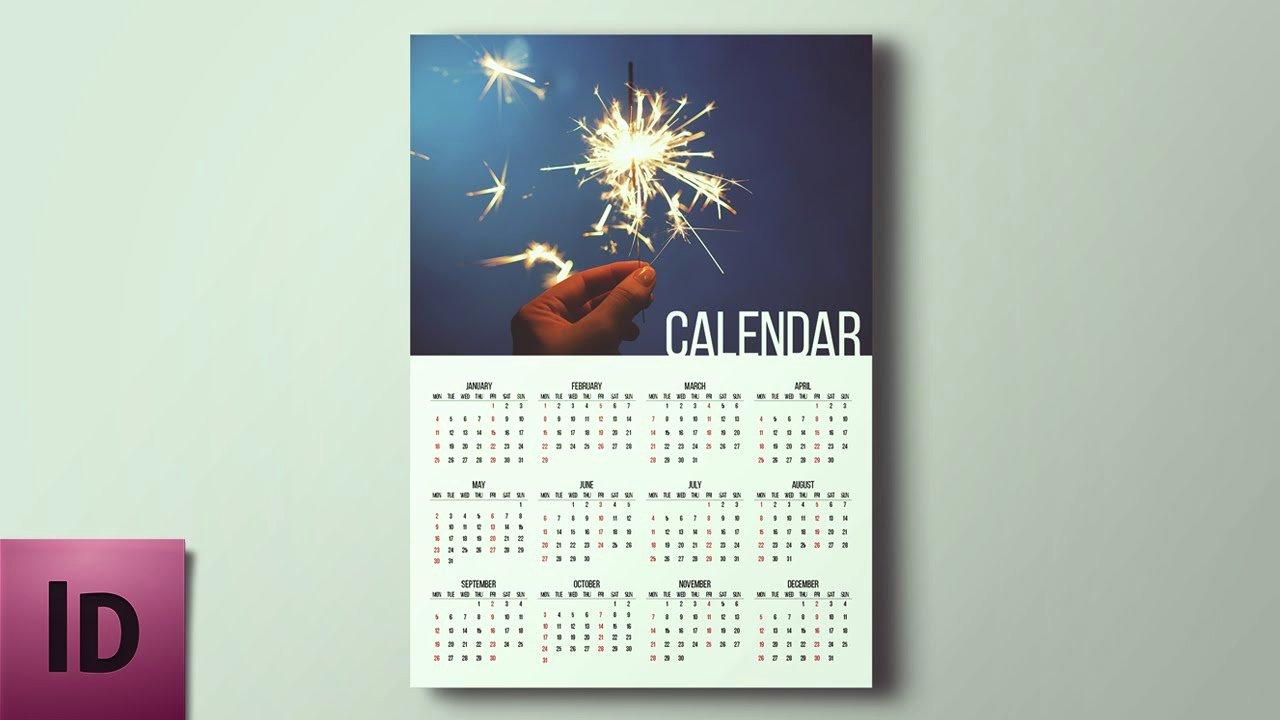 How to Create A Calendar Indesign Tutorial