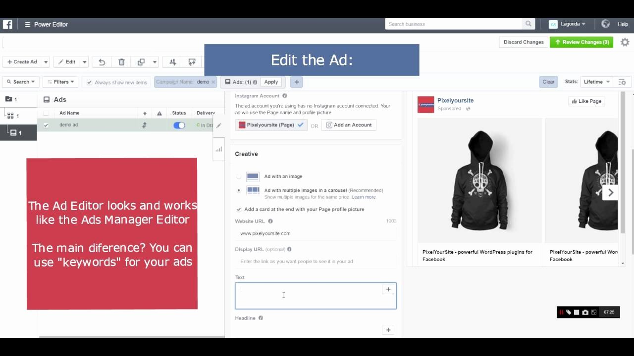 How to Create A Dynamic Ads Template In Under 10