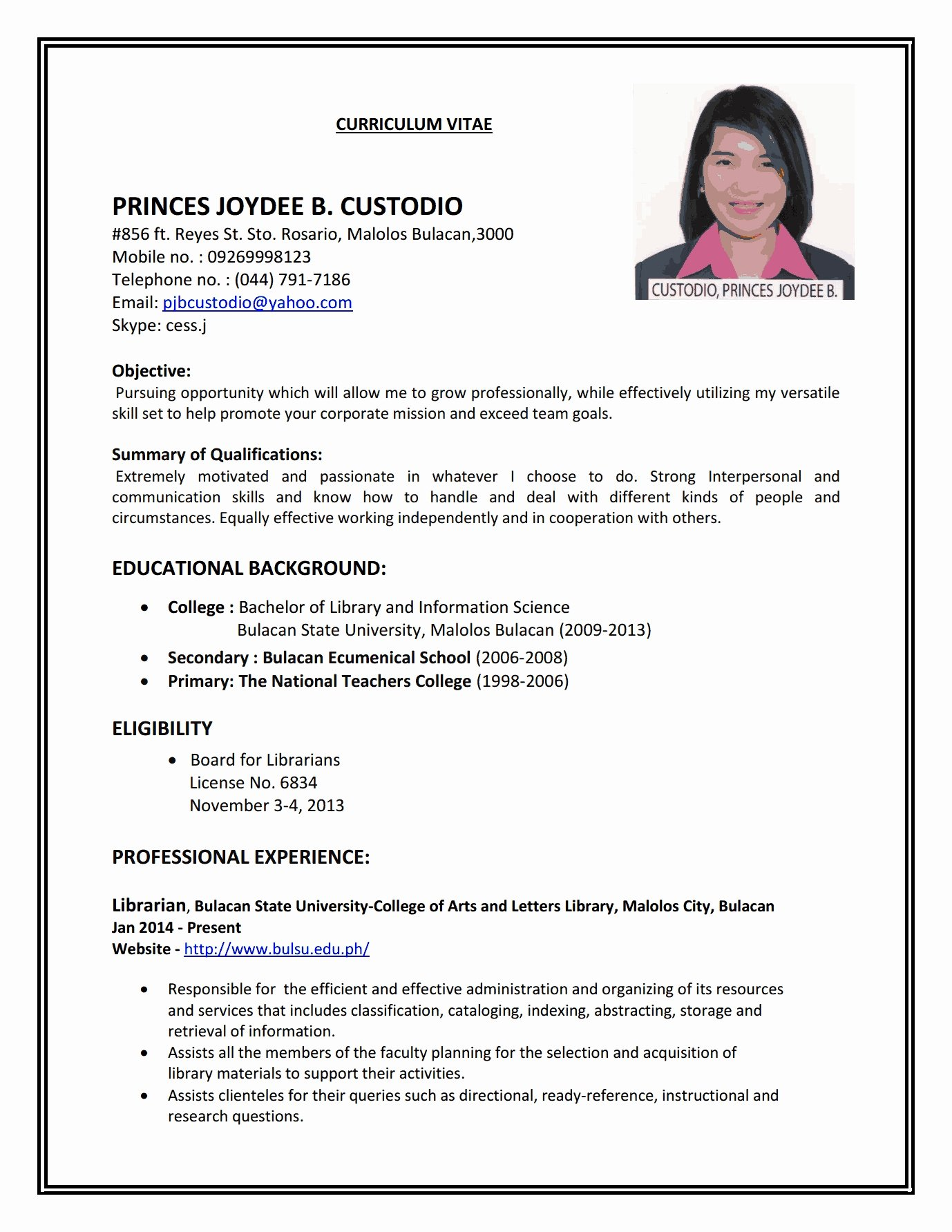 How to Create A Job Resume Annecarolynbird