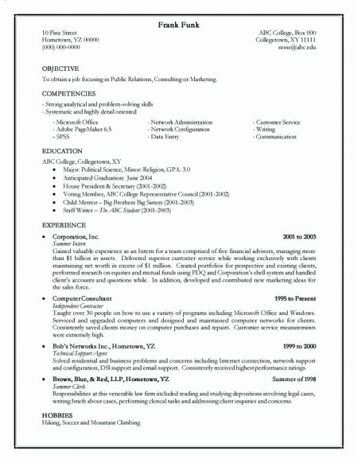 how to create a resume 2642