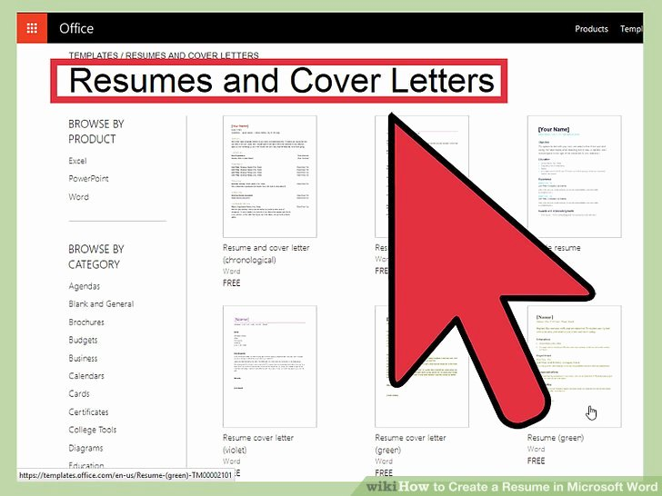 How to Create A Resume In Microsoft Word with 3 Sample