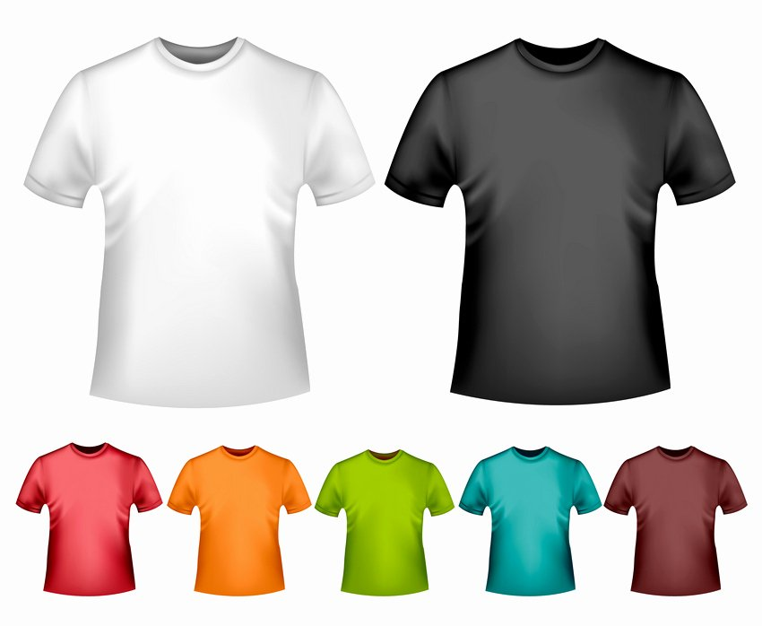 How to Create A Vector T Shirt Mockup Template In Adobe