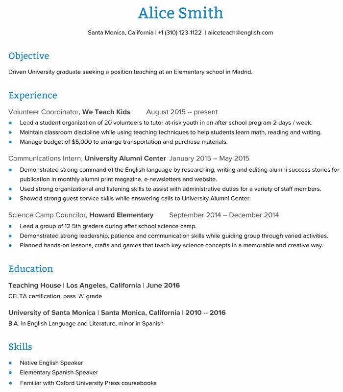 How to Create An Esl Teacher Resume that Will Get You the