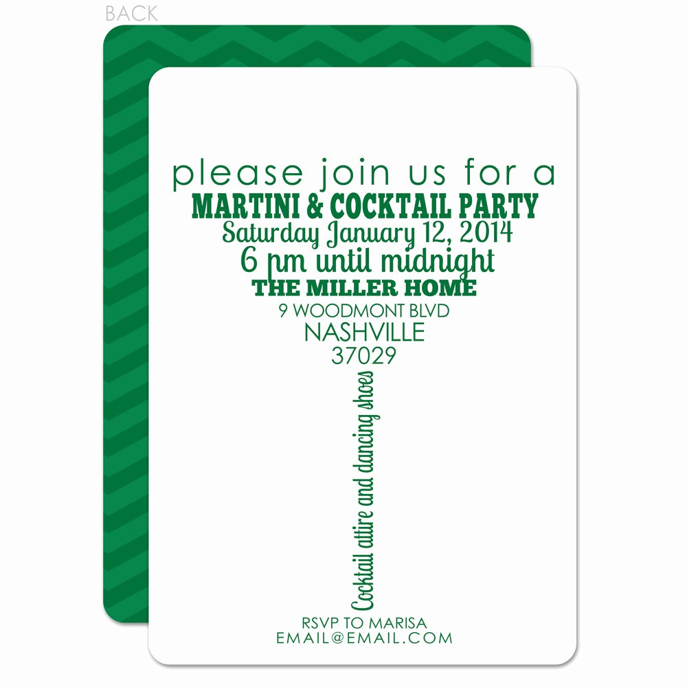 How to Create Cocktail Party Invitation Wording