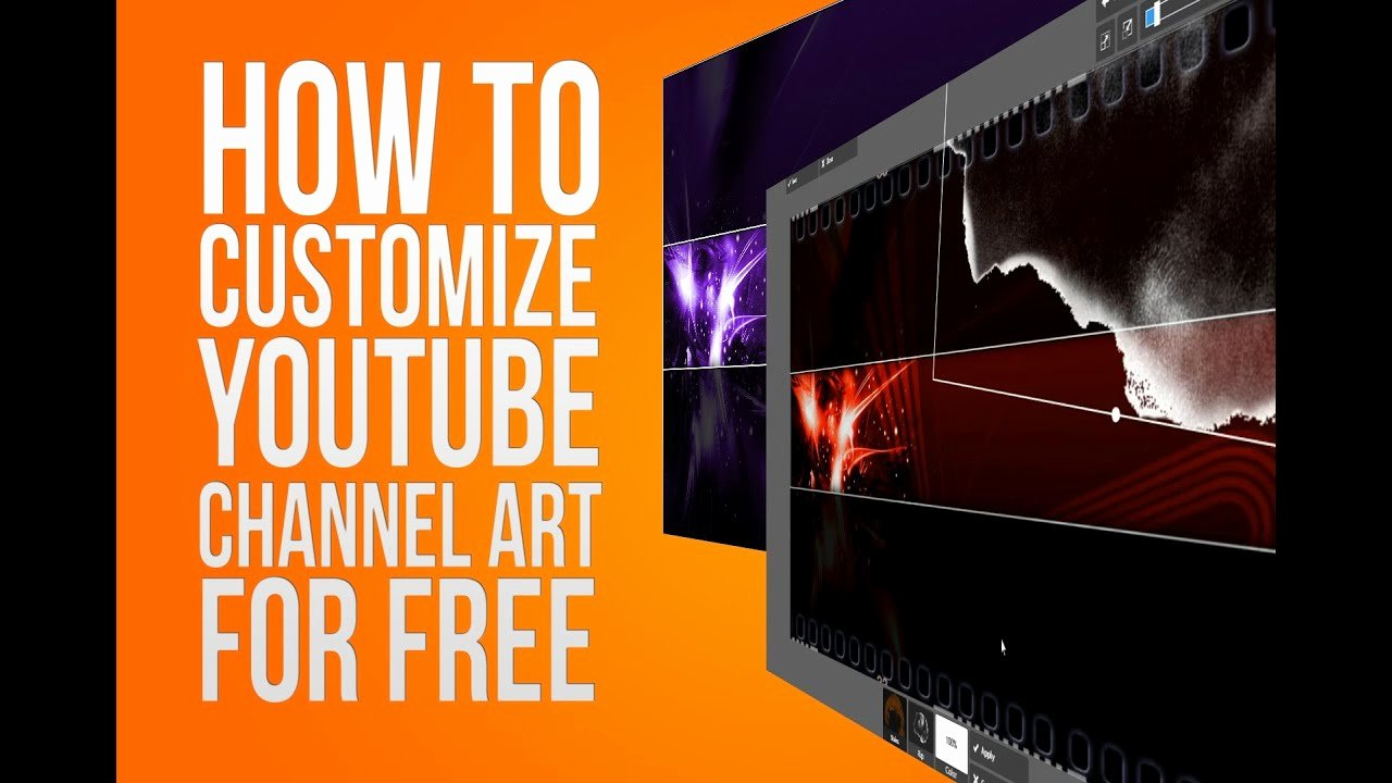 How to Customize Channel Art for Free Line