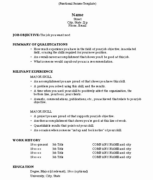 How to Do A Resume Resume Cv Example Template