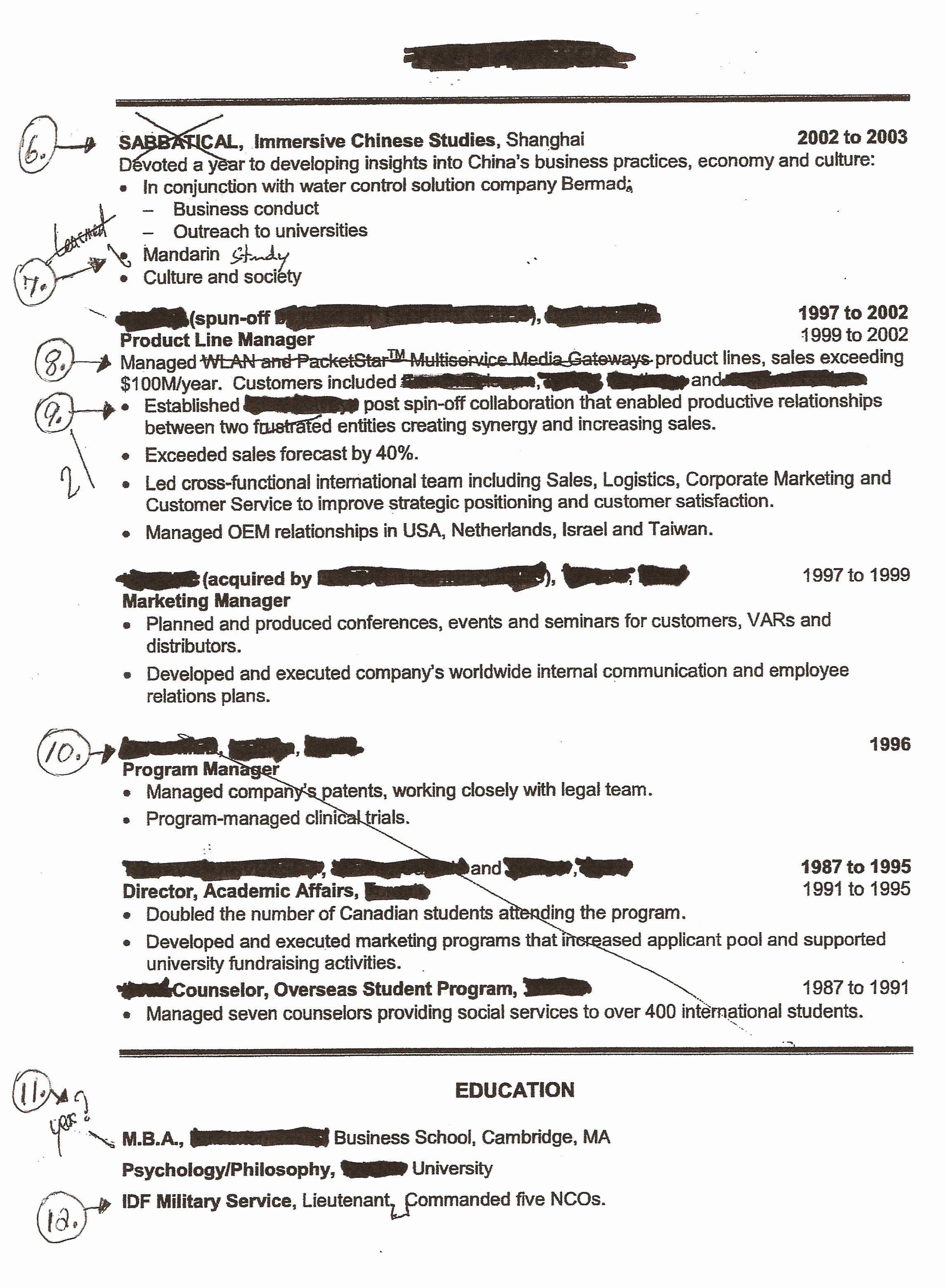 How to Explain Self Employment A Resume Resume Ideas
