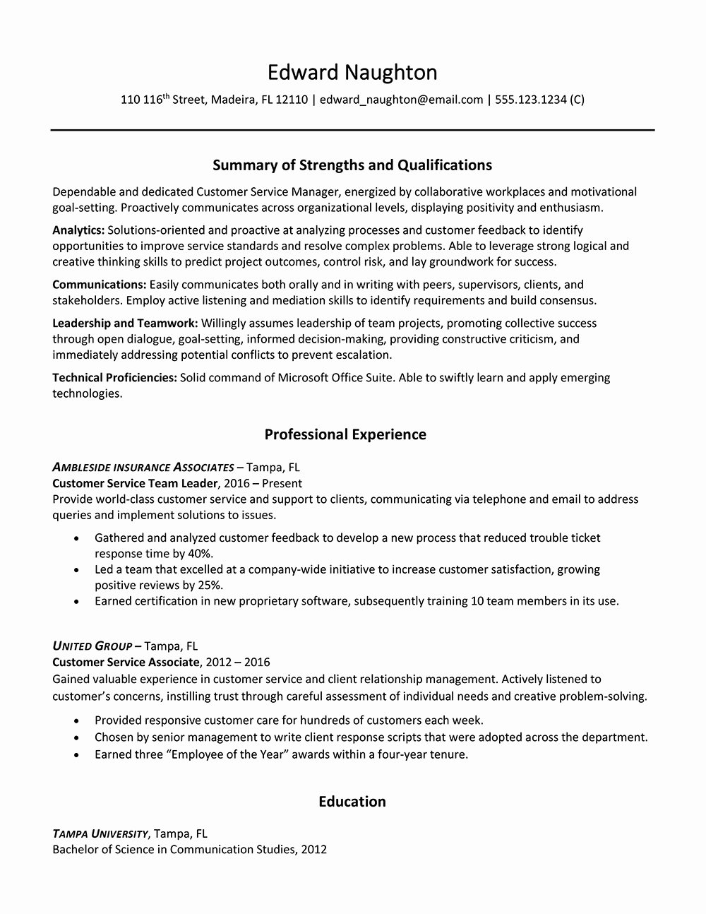 How to Include Puter Skills In Resume