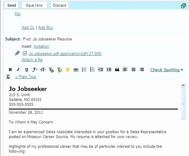 How to Mail A Resume and Cover Letter Chechucontreras