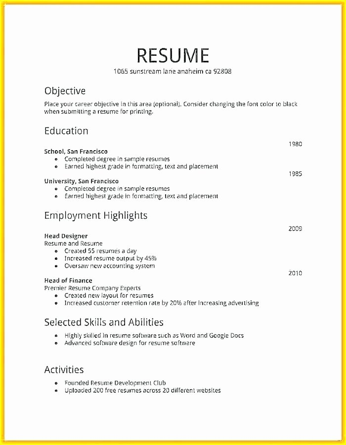 How to Make A Resume for Create Job and Write Help Me In