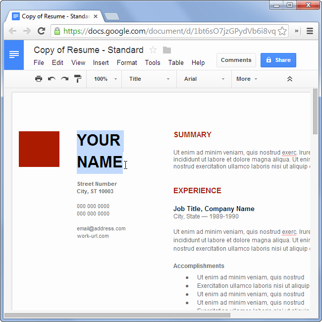 How to Make A Resume for Free without Using Microsoft Fice