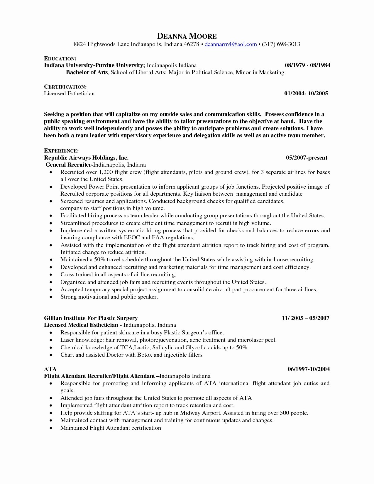 How to Make A Resume No Experience