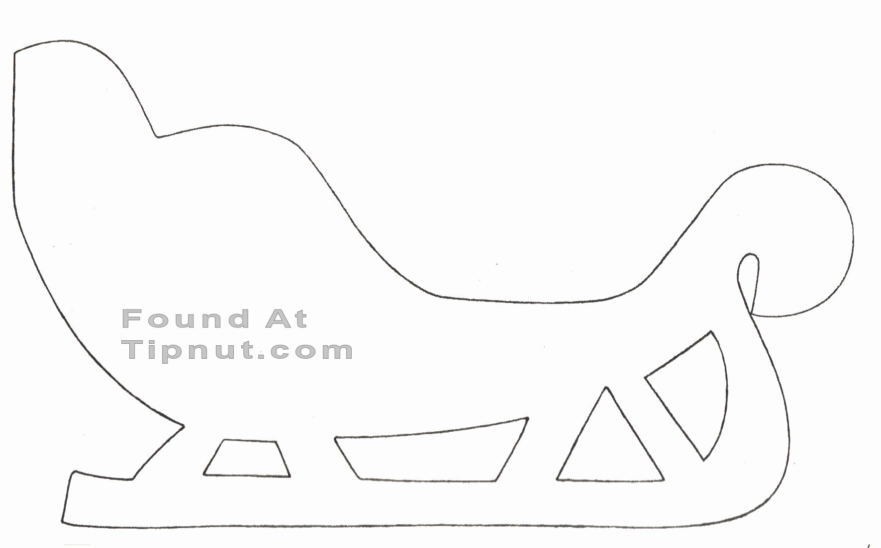 How to Make A Santa Sleigh Plans Diy Free Download Simple