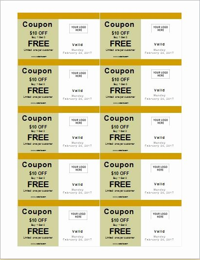 How to Make Coupons with Sample Coupon Templates