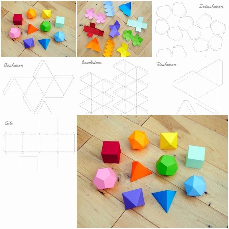 How to Make Geometrical Box Templates Step by Step Diy