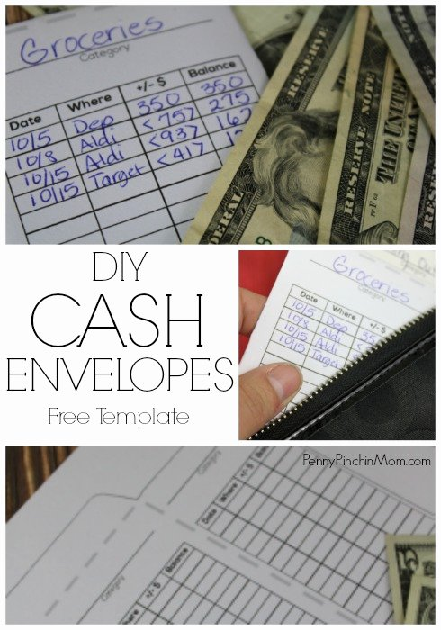 How to Make Your Own Cash Envelopes Free Template
