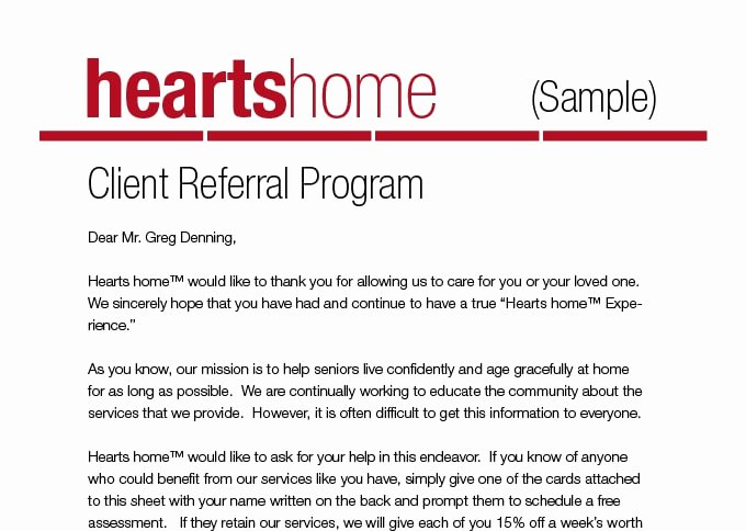 How to Obtain More Client Referrals