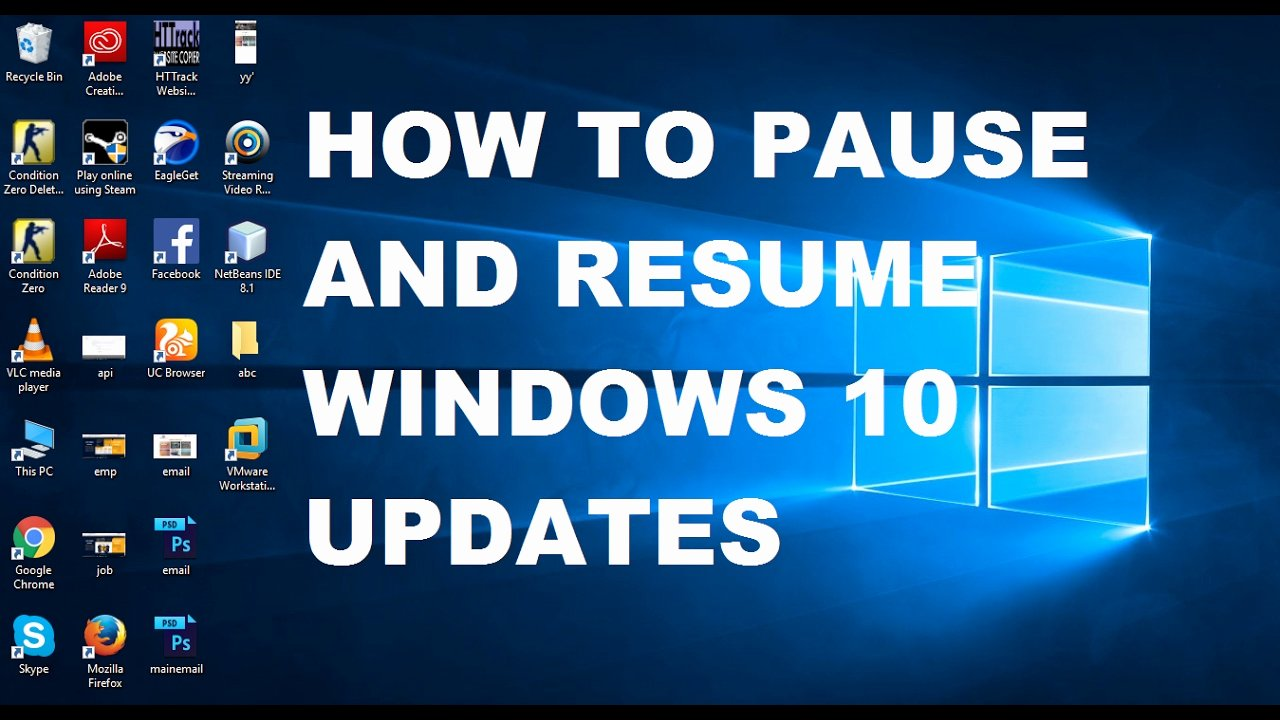 How to Pause and Resume Windows 10 Updates with Mand