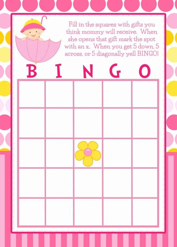 How to Play Fun Baby Shower Bingo Game