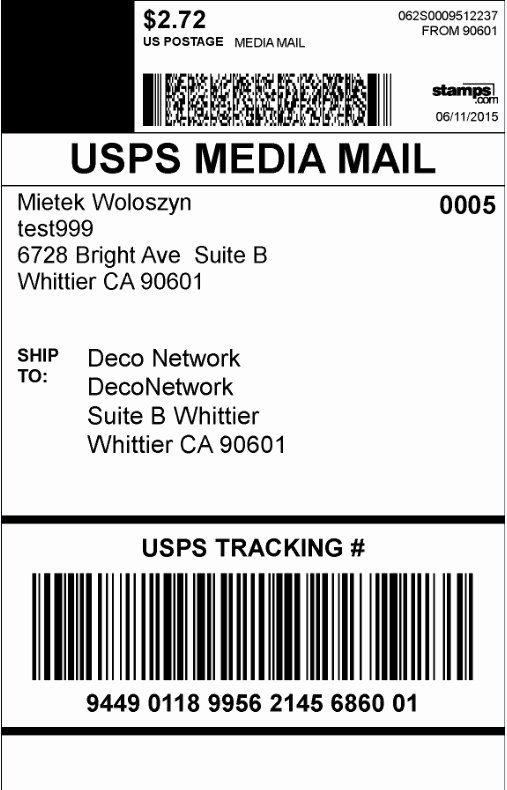 How to Print Live Shipping Labels for Ups and Usps In