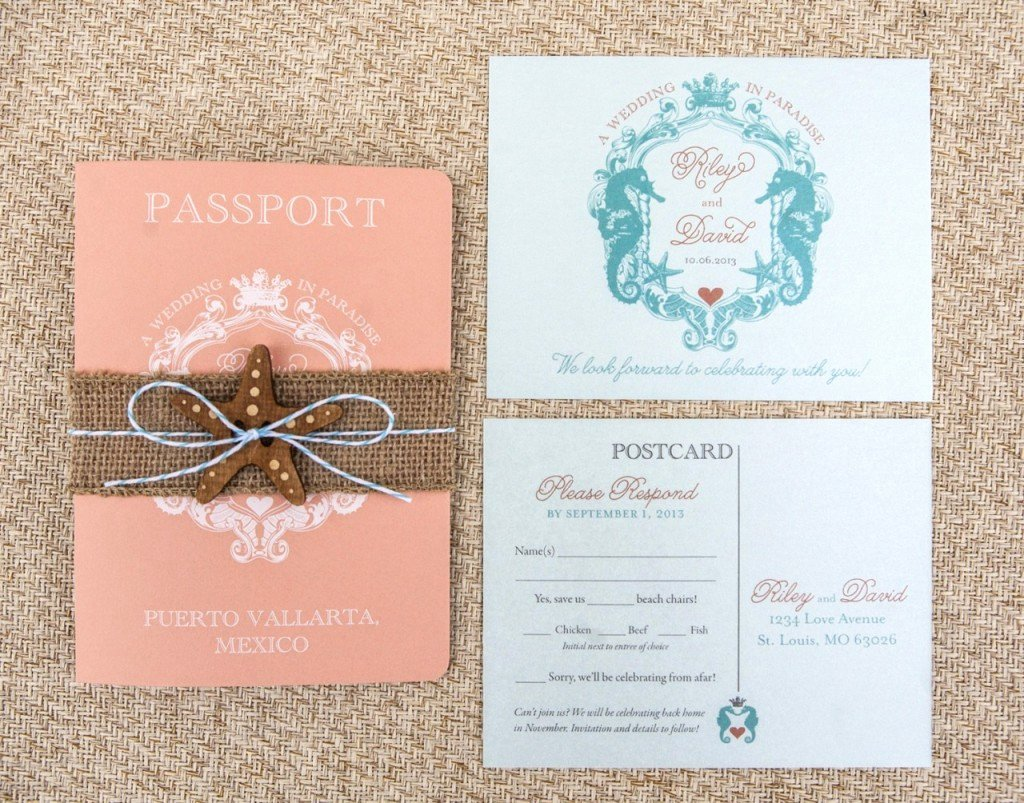 How to Select the Passport Wedding Invitations Ideas