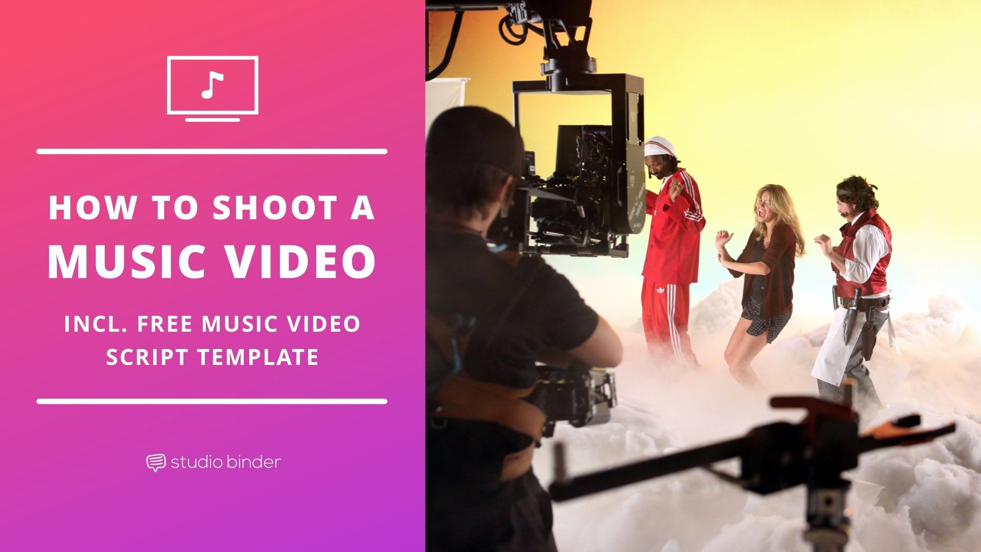 How to Shoot A Music Video [free Music Video Script Template]