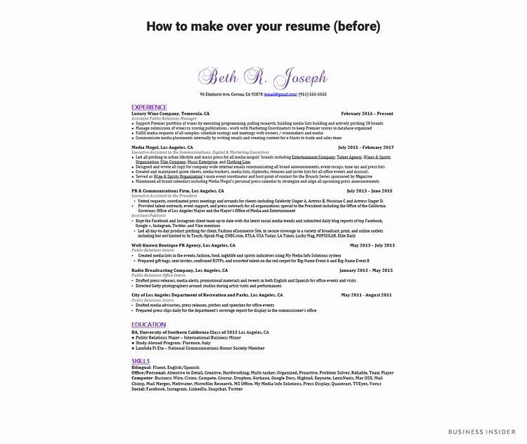 How to Update Your Resume when You A New Job