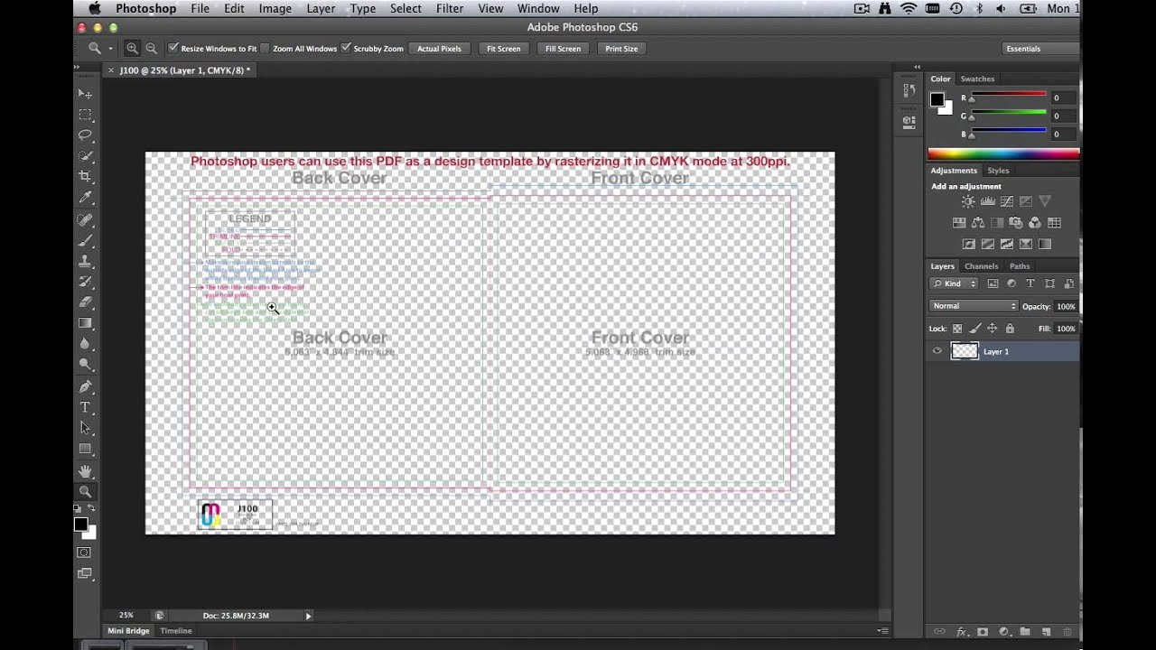 How to Use Cd Templates In Adobe Shop