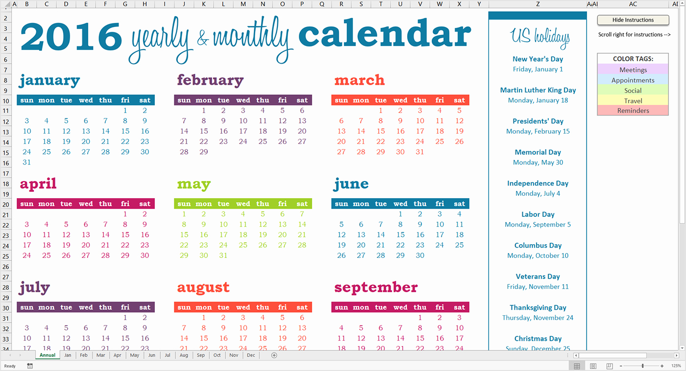 How to Use the Deluxe event Calendar Savvy Spreadsheets