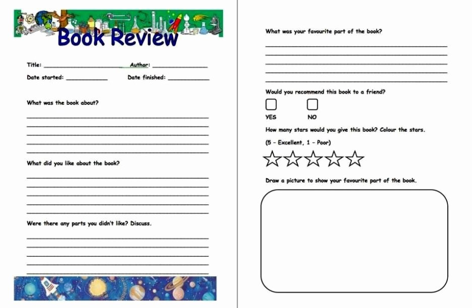 How to Write A Book Review Template Sampletemplatess