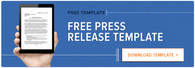 How to Write A Press Release [free Press Release Template