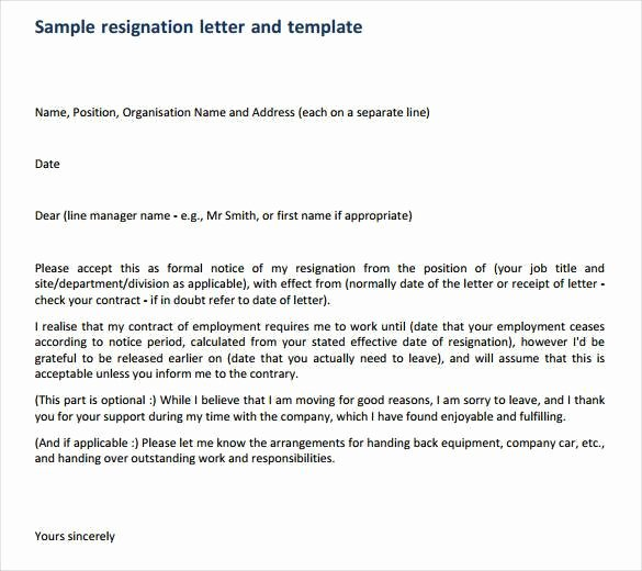 How to Write A Professional Resignation Letter