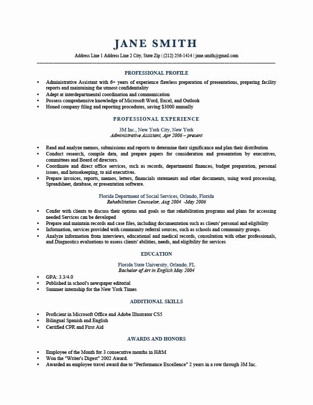 How to Write A Resume Profile Examples & Writing Guide