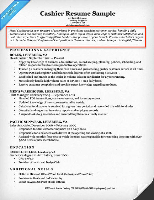 How to Write A Resume Step by Step Guide