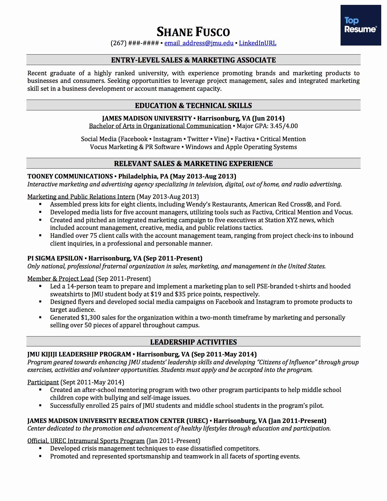 How to Write A Resume with No Job Experience