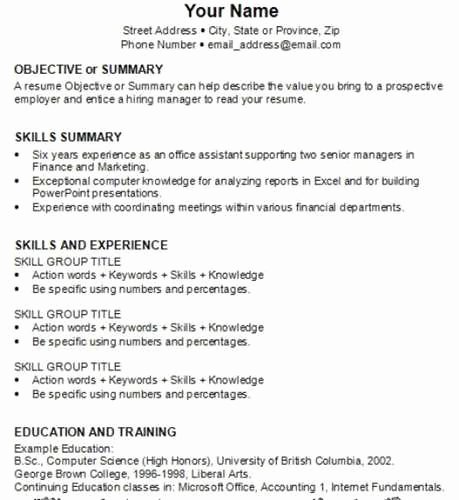 How to Write and Amazing Resume