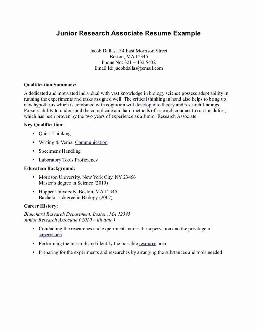 How to Write associates Degree Resume – Perfect Resume