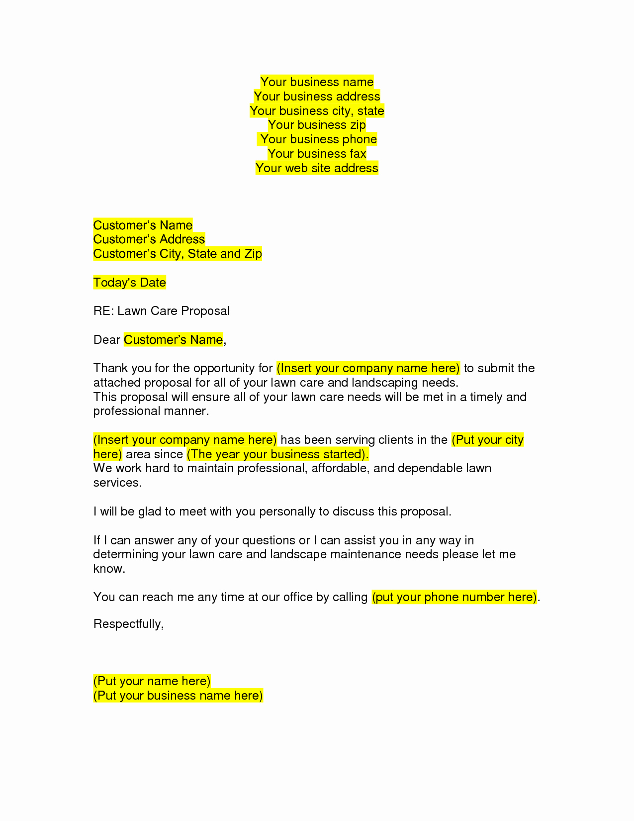 How to Write Business Proposal Letter Step by Step Example