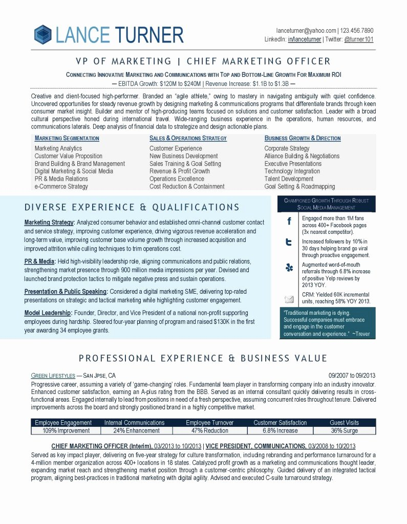 How to Write Executive Resume